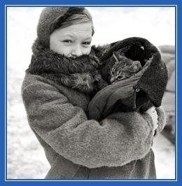 Война, кошка, блокадный Ленинград