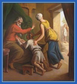 Исаак благословляет Иакова