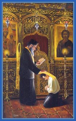 Исповедь, священник, храм, духовный отец