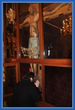 Крест Господень в Годеново, Распятие