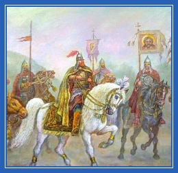 Русские воины, витязи