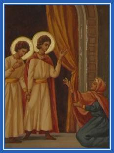 Святая Клеопатра, сын Иоанн и мученик Уар