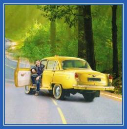 Такси, таксист, машина