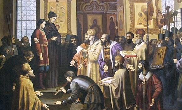 Возведение на царский престол Михаила Романова
