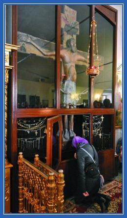 Животворящий Крест в храме Иоанна Златоуста в Годенове