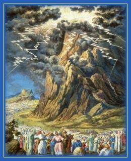Гора Синай, Десять Заповедей