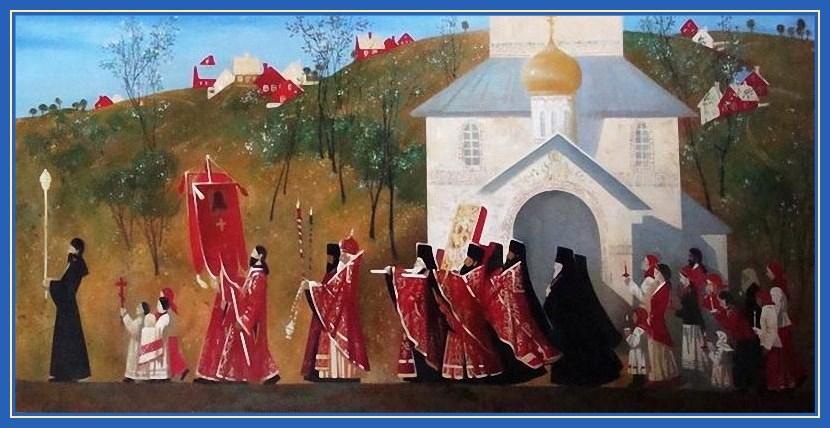 Крестный ход Пасхальный