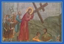 Крестный путь, Иисус Христос