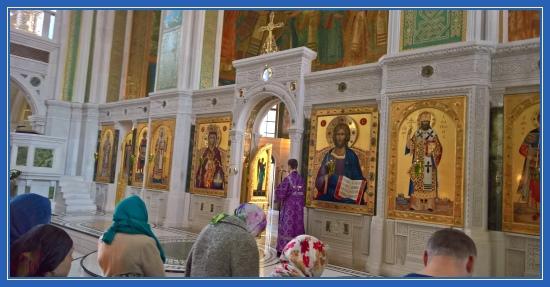Сретенский монастырь. Великая Суббота. Литургия