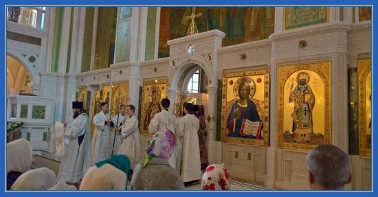 Сретенский монастырь. Великая Суббота
