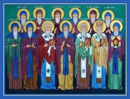 Пеподобные Иоанн Зедазнийский и ученики его