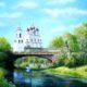 Летний день на Пскове