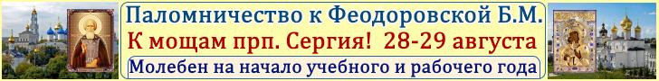 В Кострому и Сергиеву Лавру за благословением! >>