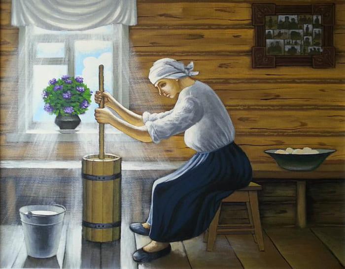 История производства сливочного масла