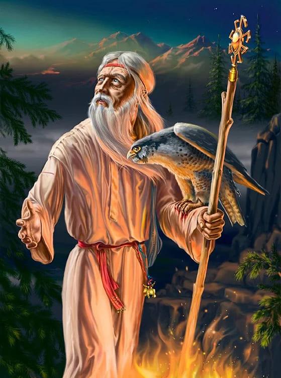 Колдун, знахарь, жрец, волхв