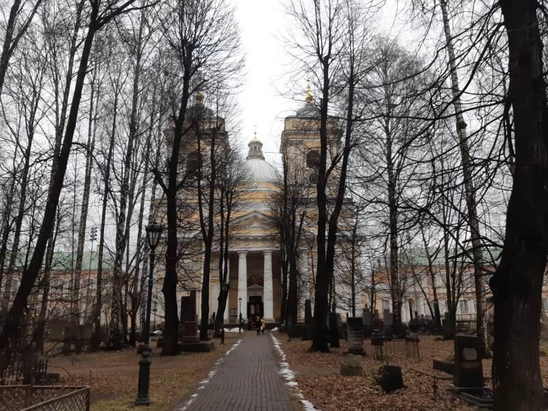 Александровский собор лавры