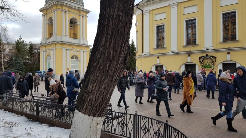 В Покровский монастырь 26 января 2020