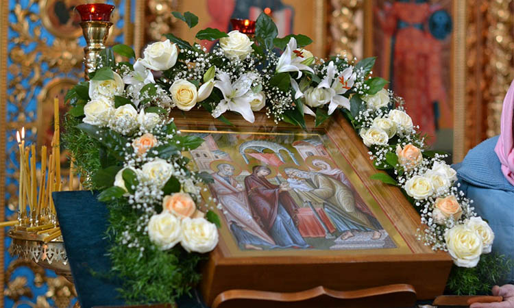 Икона Сретение Господне в храме