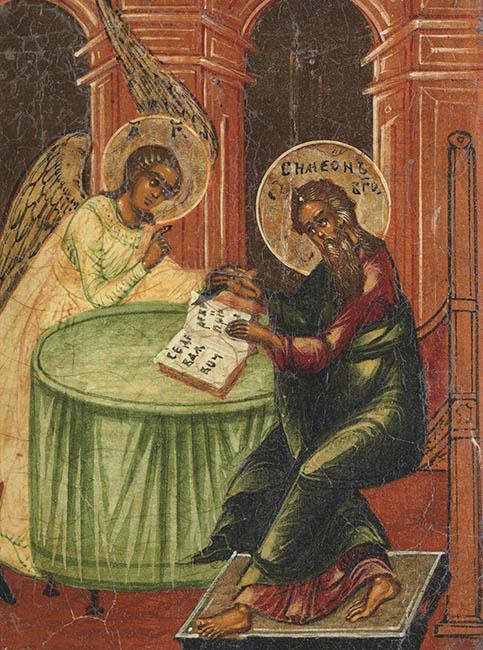Симеон Богоприимец и ангел