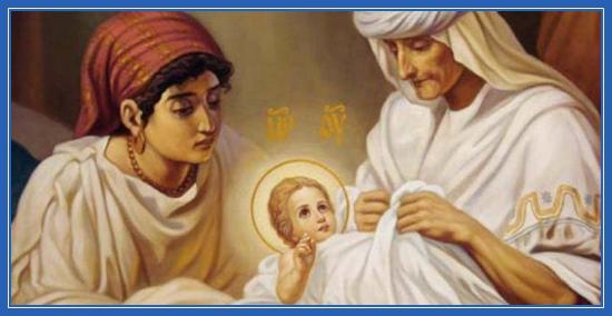 Анна, Рождество Пресвятой Богородицы, младенец Мария