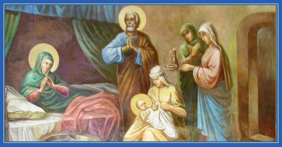 Рождество Пресвятой Богородицы, роспись