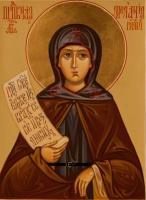 Житие преподобной Мелании Римляныни