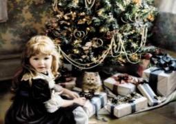 Игры у Рождественской елки - с детьми!