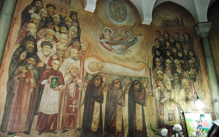 Фреска в Соборе Святого Марка