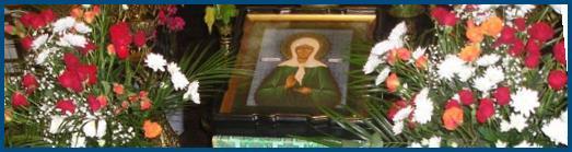 Молебен святой Матроне Московской