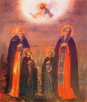 Преподобные Ксенофонт и Мария и их сыновья - житие