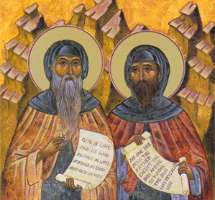 Преподобный Варсонофий Великий и Иоанн Пророк