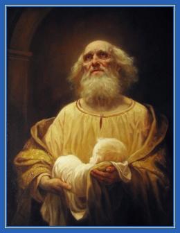 Симеон Богоприимец, Сретение Господне