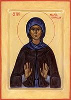 Преподобная Мария, именовавшаяся Марином