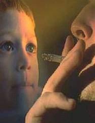 Пассивное курение калечит родных и близких!