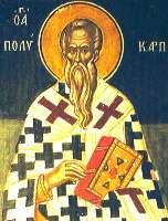 Священномученик Поликарп Смирнский - житие