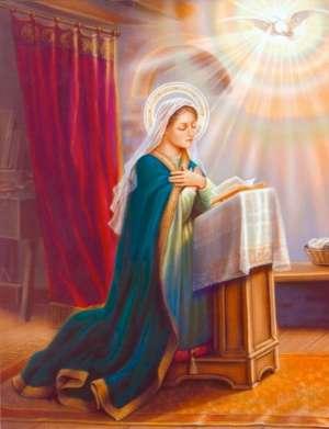 Благовещение - Богородица