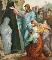 Праведный Лазарь Четверодневный - житие