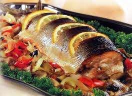 Рыбный обед на Благовещение и Вербное Воскресение.