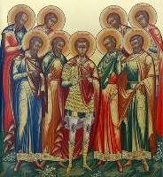 Девять мучеников Кизических - житие