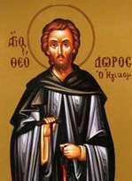 Преподобный Феодор Освященный - житие