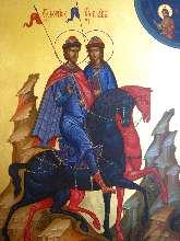 Благоверные князья Борис и Глеб - житие