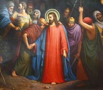 Иуда предает Господа