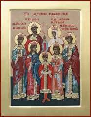 Чудо об иконе святых царственных мучениках
