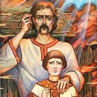 Мученики Феодор и сын его Иоанн - житие