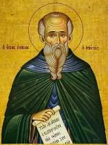 Преподобный Паисий Великий - житие