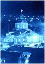 Посещение святителем Николаем своего храма