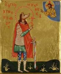 Почему святого Христофора изображают с песьей головой?