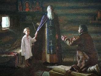 Преподобный Сергий Радонежский воскресил отрока