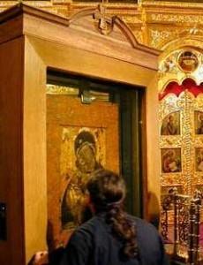 Владимирская икона Божией Матери и истекающие от неё чудеса