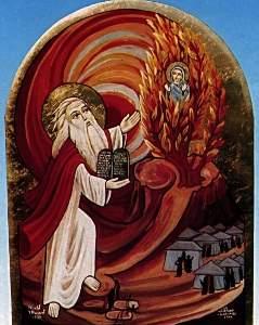 Святой пророк Божий Моисей - житие